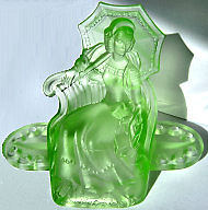 August Walther glass figurine