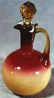 Peachblow vase from Wheeling