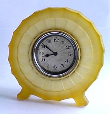 Bagley glass clock