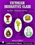 Victorian Decorative glass book